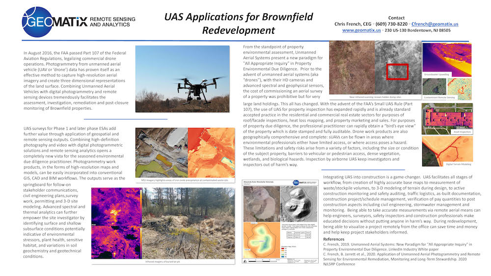 uas application for brownfield redevelopment